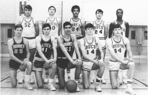 The 1970 All-Delco team featured Haverford's Ray Edelman, top row second from left, and Steve Joachim, bottom row far right.